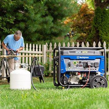Westinghouse WGen9500DF Dual Fuel Portable Generator Reviews