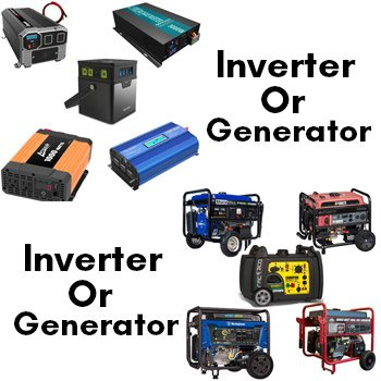 Inverter Or Generator Which Is Best For Home Use