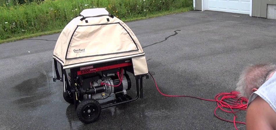 How to Run a Generator in the Rain