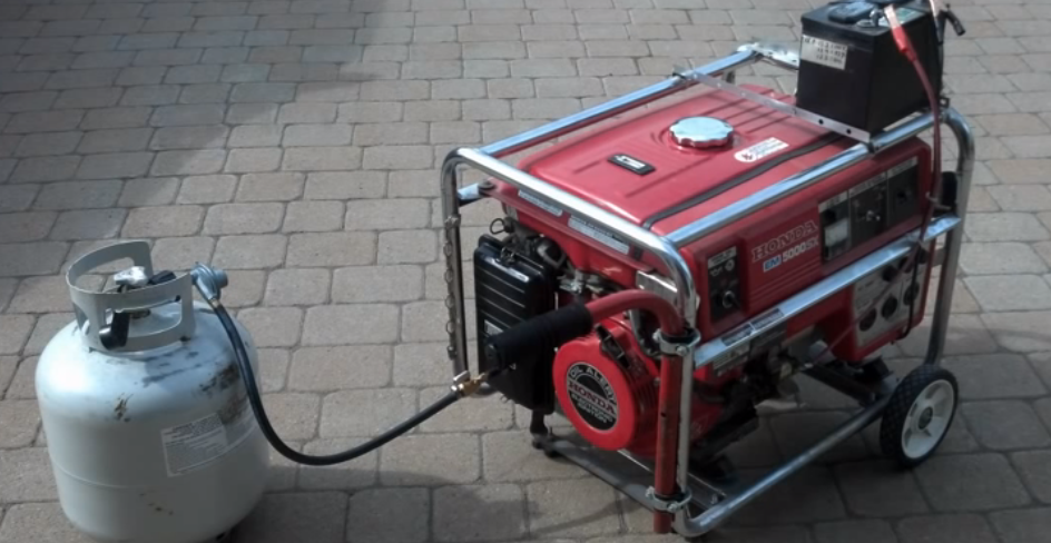 Can a propane generator run on natural gas