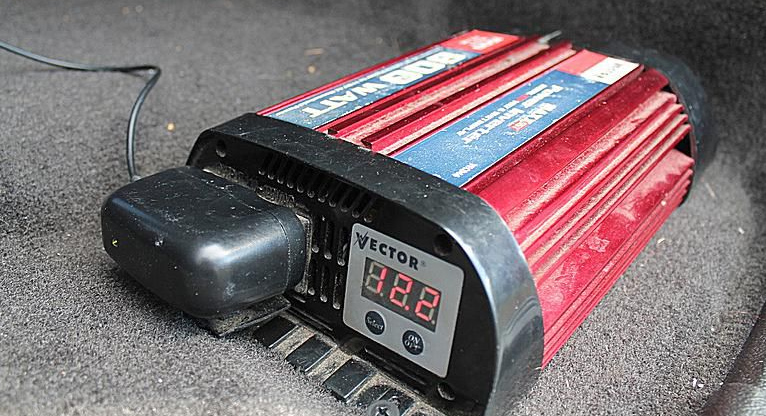 How to install a power inverter in my truck