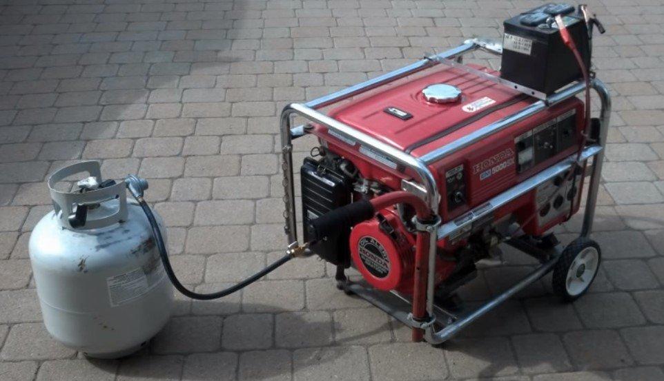 Use Propane or Gas Generators
