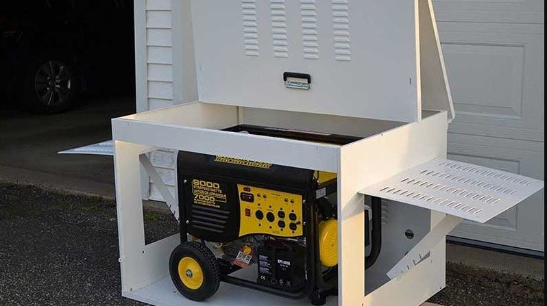 Keep the generator clean or covered