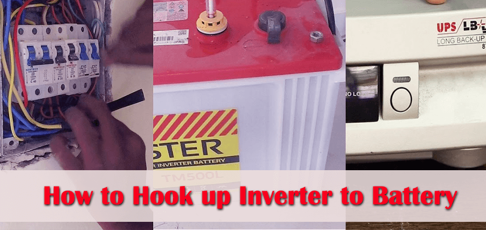 How to Hook up Inverter to Battery